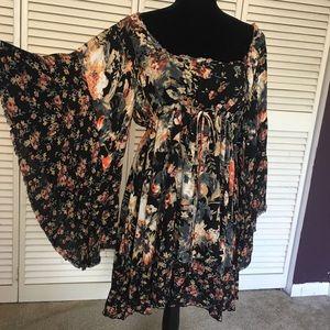 Free people peasant dress size medium